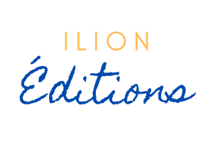 Ilion bleu orange transparent logo